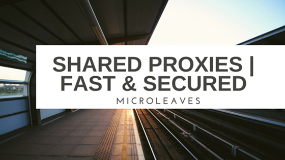 About Shared Proxy