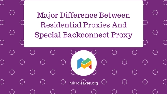 Special Backconnect Proxy