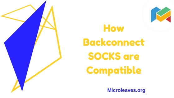 How Backconnect SOCKS are Compatible