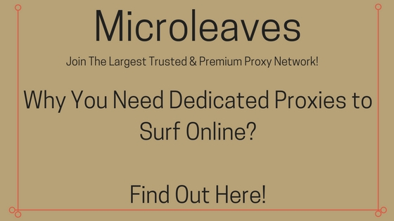 Why You Need Dedicated Proxies to Surf Online? Find Out Here!
