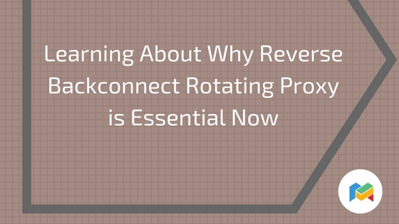 learning reverse backconnect rotating proxy